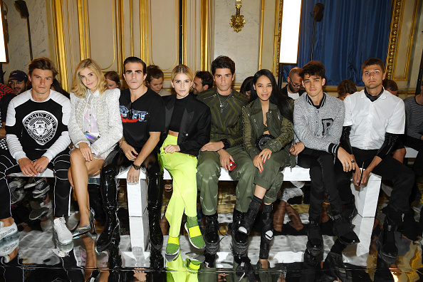 Balmain「Balmain: Front Row - Paris Fashion Week - Menswear Spring/Summer 2019」:写真・画像(4)[壁紙.com]
