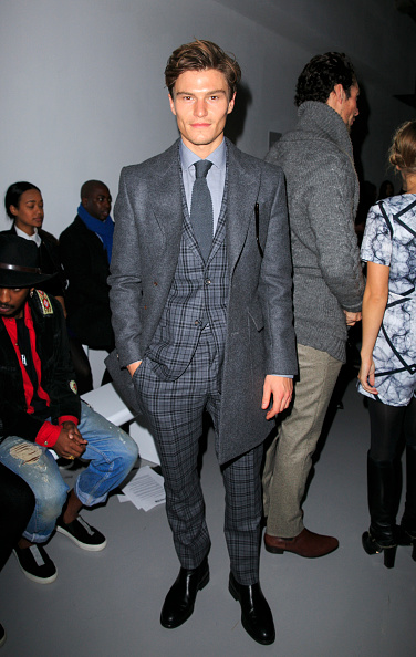 London Collections Men「Front Row: Day 2 - London Collections: Men AW15」:写真・画像(6)[壁紙.com]