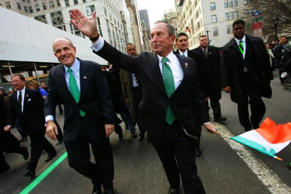 Mayor「St. Patrick's Day Parade in New York」:写真・画像(10)[壁紙.com]