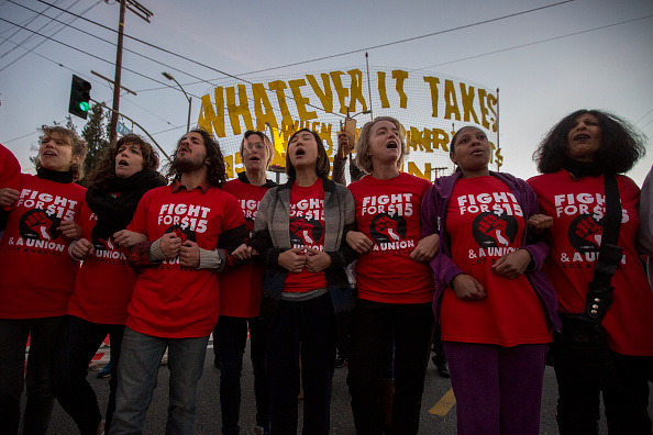 Fast Food「Workers Across The Country Demonstrate For Higher Minimum Wage」:写真・画像(6)[壁紙.com]