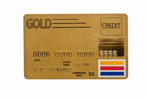 Credit Card「Worn Gold Credit Card」:スマホ壁紙(6)