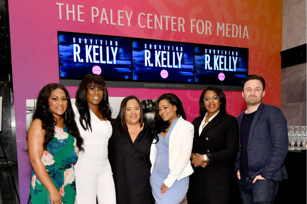 """The Executive Producers And Survivors Featured In Lifetime's """"Surviving R Kelly"""" Attend The Emmy FYC Screening At The Paley Center For Media In New York:ニュース(壁紙.com)"""