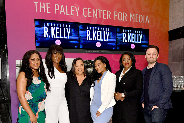 "Kelly public「The Executive Producers And Survivors Featured In Lifetime's ""Surviving R Kelly"" Attend The Emmy FYC Screening At The Paley Center For Media In New York」:写真・画像(12)[壁紙.com]"