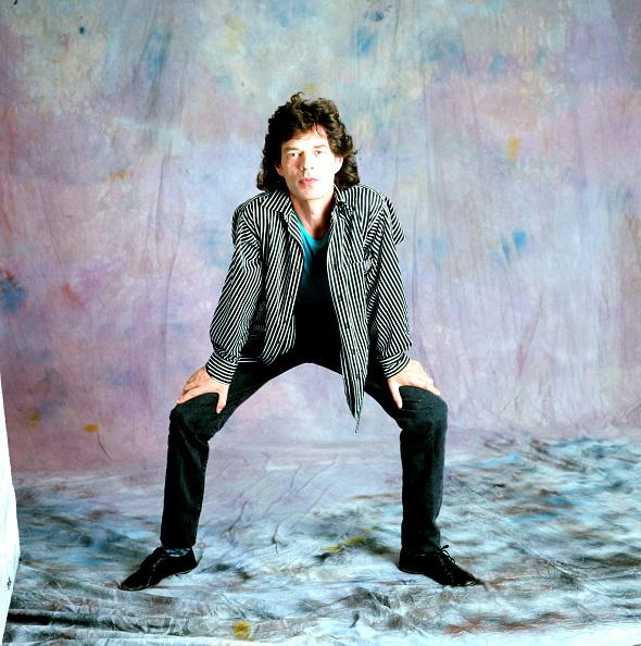 Photo Shoot「Mick Jagger Studio Portrait」:写真・画像(1)[壁紙.com]