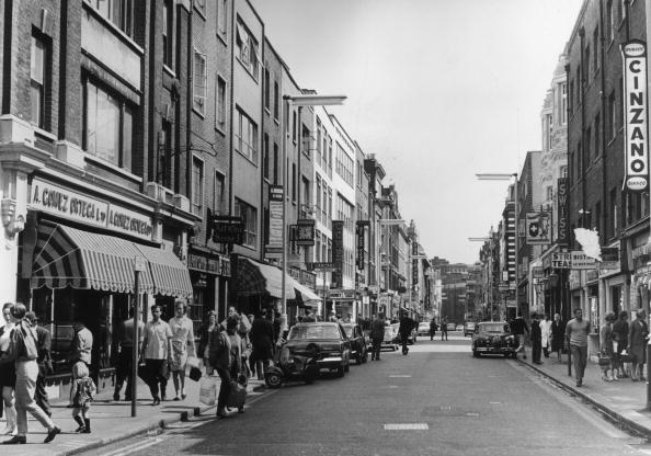 英国 ロンドン「Old Compton Street」:写真・画像(11)[壁紙.com]