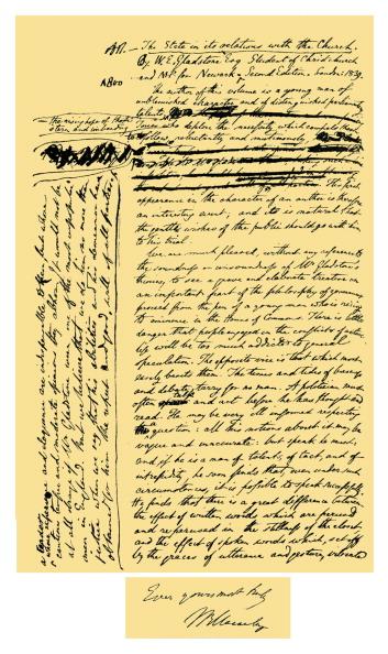 Writing「Autograph: Thomas Babington Macaulay, Lord Macaulay」:写真・画像(15)[壁紙.com]