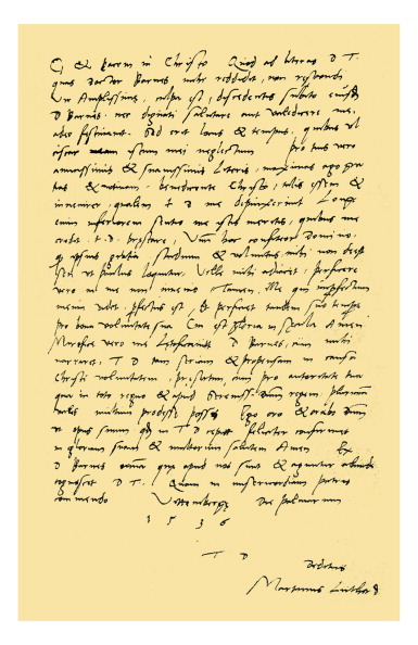 Writing「Autograph: Martin Luther.」:写真・画像(6)[壁紙.com]