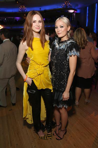 "Yellow Dress「The World Premiere Of Marvel Studios' ""Guardians Of The Galaxy Vol. 2.""」:写真・画像(9)[壁紙.com]"