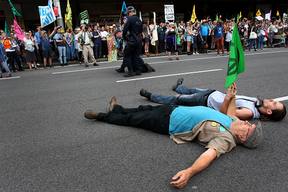 Event「Australians Protest Climate Change As Part Of Global Rebellion」:写真・画像(15)[壁紙.com]