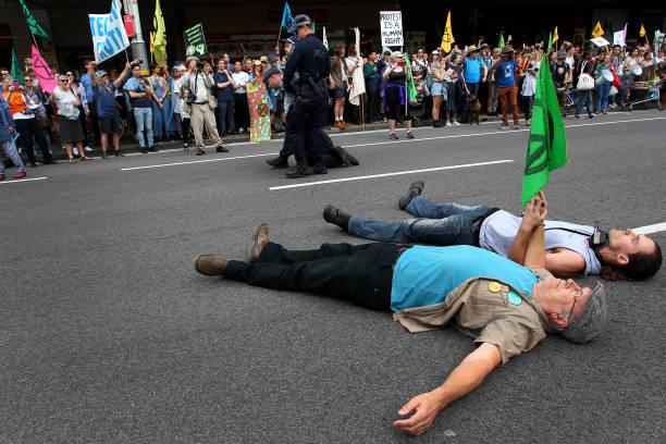 Australians Protest Climate Change As Part Of Global Rebellion:ニュース(壁紙.com)