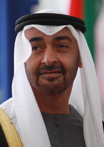 Crown Prince「Abu Dhabi Crown Prince Meets Angela Merkel」:写真・画像(2)[壁紙.com]
