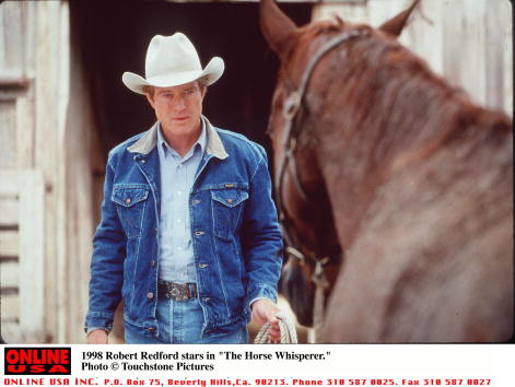 "Horse「1998 Robert Redford stars in ""The Horse Whisperer.""」:写真・画像(1)[壁紙.com]"