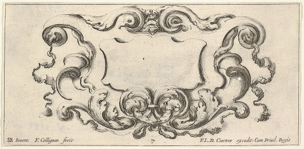 Copy Space「Plate 7: A Cartouche With The Mask Of An Ogre At Top Center」:写真・画像(2)[壁紙.com]