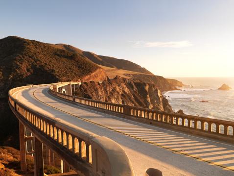 Carmel - California「Bridge at sunset」:スマホ壁紙(15)