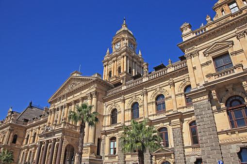 Clock「City Hall in Cape Town.」:スマホ壁紙(7)