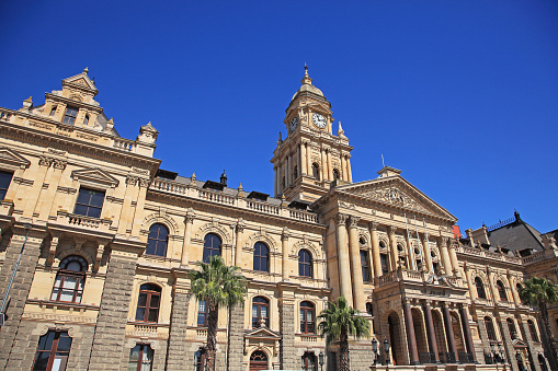 Clock「City Hall in Cape Town.」:スマホ壁紙(6)