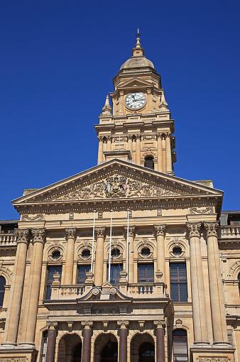Clock「City Hall in Cape Town.」:スマホ壁紙(5)