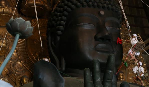 Great Buddha Hall - Nara「Annual Great Buddha Dusting」:写真・画像(0)[壁紙.com]