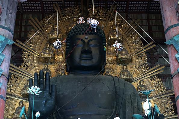 東大寺大仏殿「Annual Buddha Dusting」:写真・画像(4)[壁紙.com]