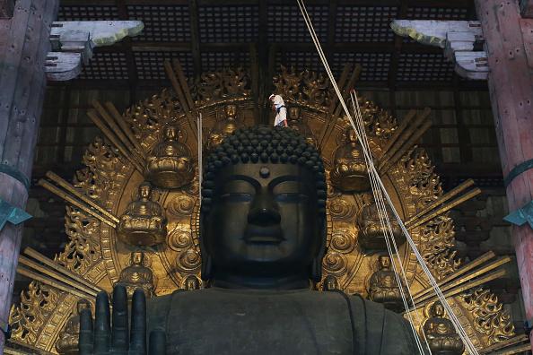 Great Buddha Hall - Nara「Annual Buddha Dusting」:写真・画像(2)[壁紙.com]