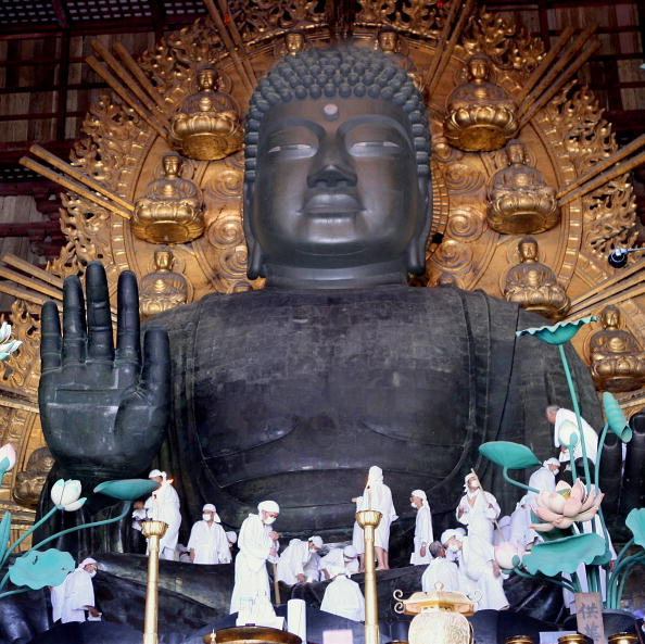 東大寺「Traditional Dusting Of The Great Buddha」:写真・画像(6)[壁紙.com]