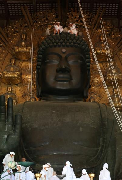 Great Buddha Hall - Nara「Annual Great Buddha Dusting」:写真・画像(18)[壁紙.com]