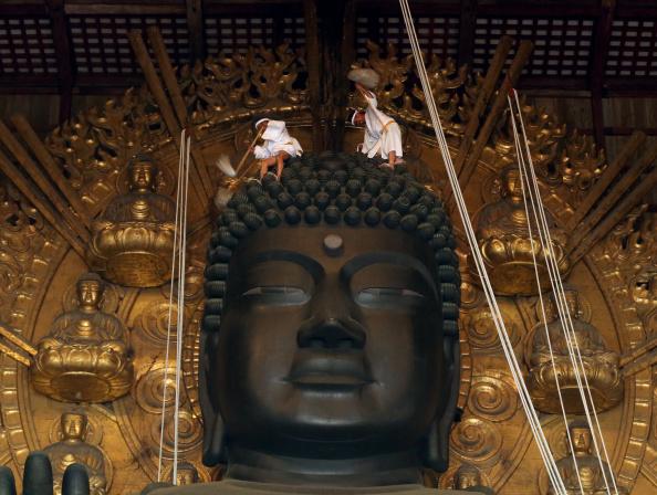 Great Buddha Hall - Nara「Annual Great Buddha Dusting」:写真・画像(4)[壁紙.com]