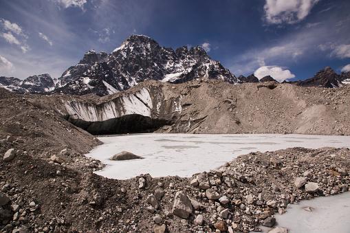 Khumbu「Glacial lake on the Ngozumpa Glacier near Gokyo, Everest Base Camp via Gokyo Trek, Nepal」:スマホ壁紙(3)