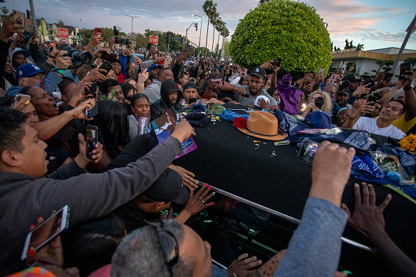 Staples Center「Nipsey Hussle's Celebration Of Life And Funeral Procession In Los Angeles」:写真・画像(3)[壁紙.com]
