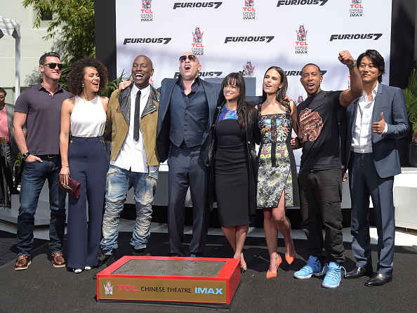 Suede「Vin Diesel Immortalized With Hand And Footprint Ceremony」:写真・画像(17)[壁紙.com]