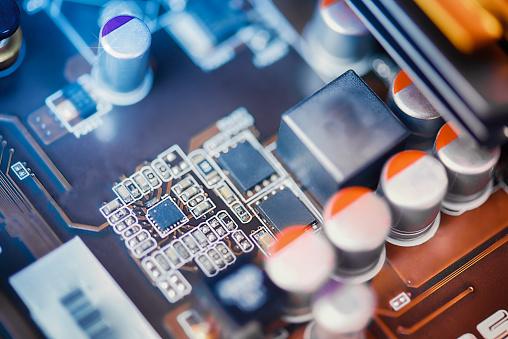 CPU「Circuit close-up」:スマホ壁紙(19)