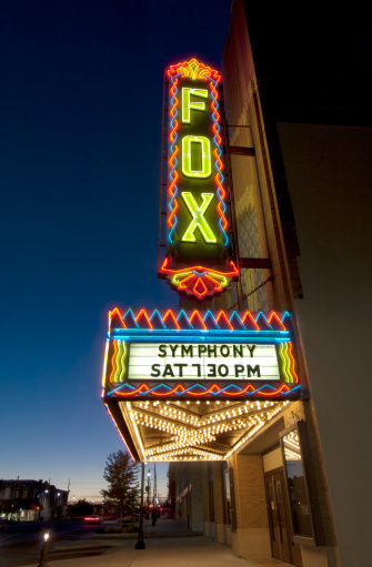 Bollard「Art Deco Fox Theater」:スマホ壁紙(13)