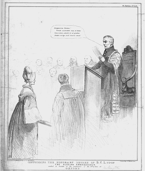 Satire「Conferring The Honorary Degree Of DCL Upon The Russian Embassador」:写真・画像(13)[壁紙.com]