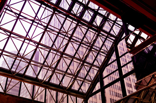 Postmodern「Steel and Glass Architecture, NYC.」:スマホ壁紙(2)