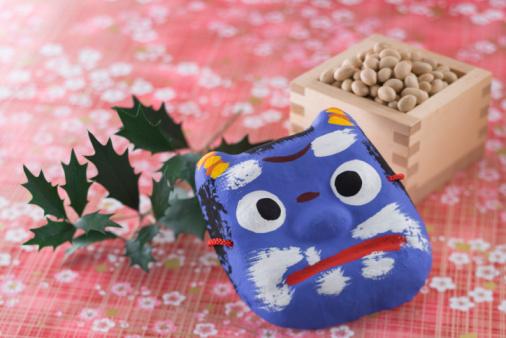 日本の祭り「Soybean and mask of evil」:スマホ壁紙(5)