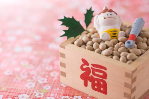 Setsubun「Soybean and ornament of evil」:スマホ壁紙(19)
