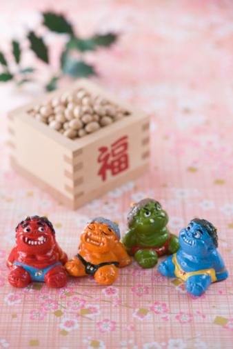 節分「Soybean and ornament of evil」:スマホ壁紙(19)
