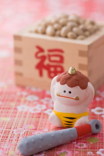 Setsubun「Soybean and ornament of evil」:スマホ壁紙(18)