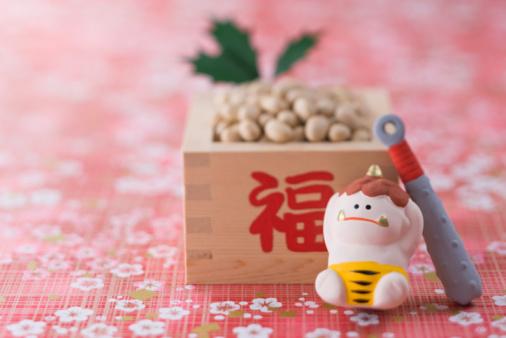 節分「Soybean and ornament of evil」:スマホ壁紙(15)