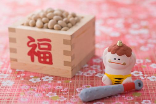 節分「Soybean and ornament of evil」:スマホ壁紙(1)