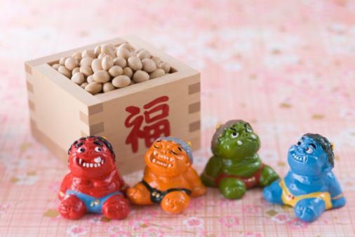 Setsubun「Soybean and ornament of evil」:スマホ壁紙(4)