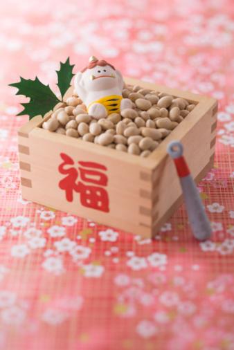 節分「Soybean and ornament of evil」:スマホ壁紙(5)