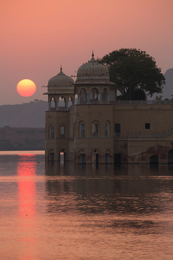 Udaipur「Water Palace, Jaipur, Rajasthan, India」:スマホ壁紙(3)