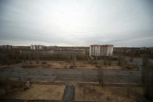Explosive「Power station in a city, Prypiat, Ukraine 」:スマホ壁紙(14)