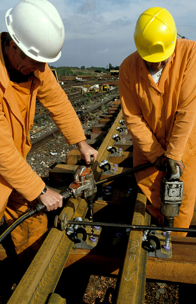 Toughness「Assembly of new rail sections. 1994.」:写真・画像(15)[壁紙.com]