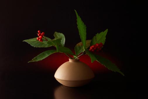 Tradition「Coral bush in vase」:スマホ壁紙(13)