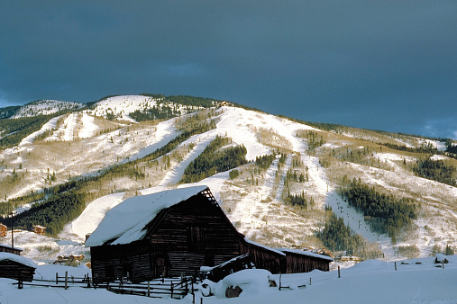 Ski Resort「Steamboat Springs Colorado」:スマホ壁紙(5)