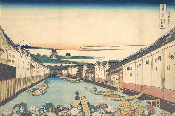 Volcanic Landscape「Nihonbashi In Edo (Edo Nihonbashi)」:写真・画像(8)[壁紙.com]