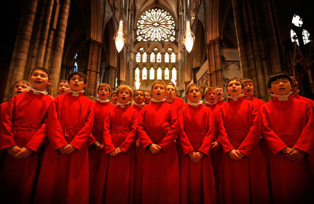 Choristers From Westminster Abbey Prepare For Christmas:ニュース(壁紙.com)