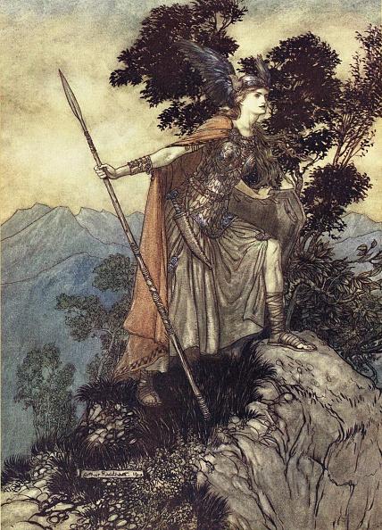 Mythology「Brunhilde Illustration for The Rhinegold and The Valkyrie by Richard Wagner, 1910」:写真・画像(16)[壁紙.com]